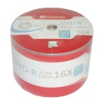DVD-R 16x Branded (50 Pack)
