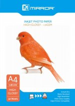 Mirror 120GSM Gloss Paper Economy Pack A4