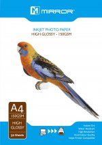 Mirror 150 Gloss A4 50 sheets Economy Pack
