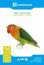 Mirror Professional Photo Paper - Gloss 210 6x4 (50 Sheets) 40PB